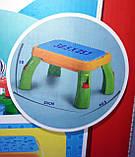 Конструктор для малышей Зоопарк jixin 3688 А со столиком, на 55 деталей, фото 5