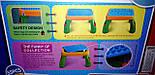 Конструктор для малышей Зоопарк jixin 3688 А со столиком, на 55 деталей, фото 7