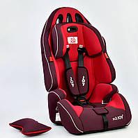 Автокресло универсальное JOY G 4566, красное, 9-36 кг