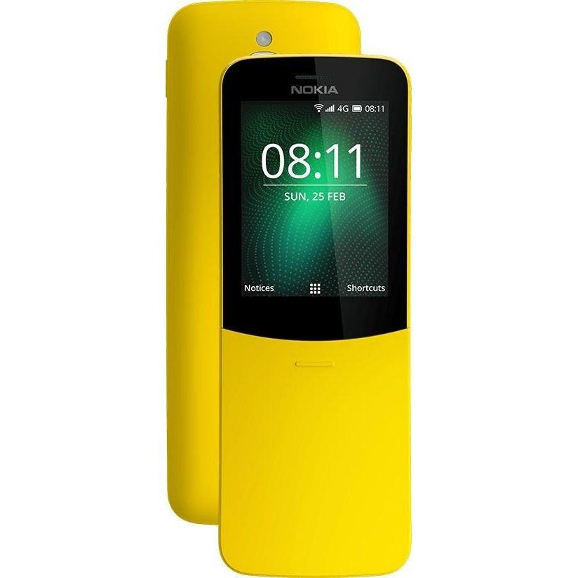 Мобильный телефон Nokia 8110 4G Yellow