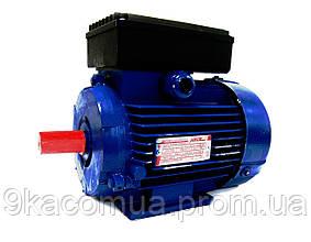 Однофазный электродвигатель АИР1Е 80 А2 (1,1 кВт, 3000 об/мин)