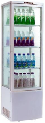 Шкаф холодильный прозрачный Frosty RT235L, фото 2