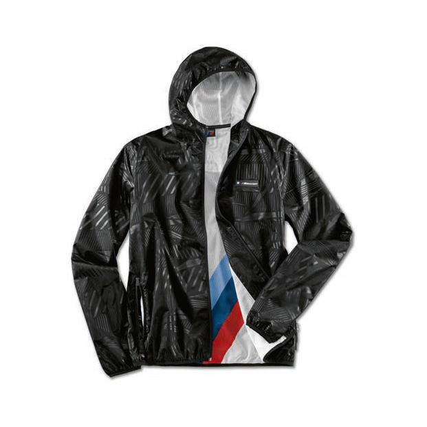 Оригинальная куртка-дождевик BMW M Motorsport Rain Jacket (Unisex, Black)