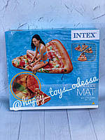 "Надувной плот матрас EU (6) ""Пицца"" желтый, 175 х 145 см, от 12-ти лет Intex артикул 58752"