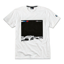 Оригінальна чоловіча футболка BMW Motorsport Graphic T-Shirt, M8 GTE (Men, White)
