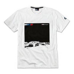 Оригинальная мужская футболка BMW Motorsport Graphic T-Shirt, M8 GTE (Men, White)