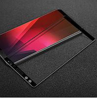 Защитное стекло для HTC U12 Plus Full Сover черный 0,3 мм в упаковке