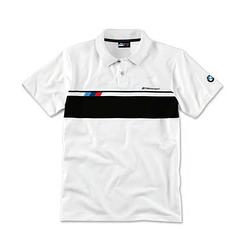 Оригінальна чоловіча сорочка-поло BMW M Motorsport Polo-Shirt (Men, White)