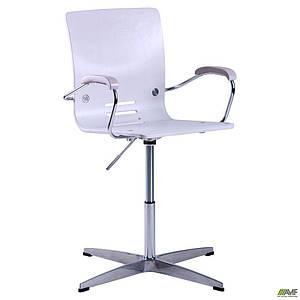 Крісло АМФ Фіджі хром Дуб білений