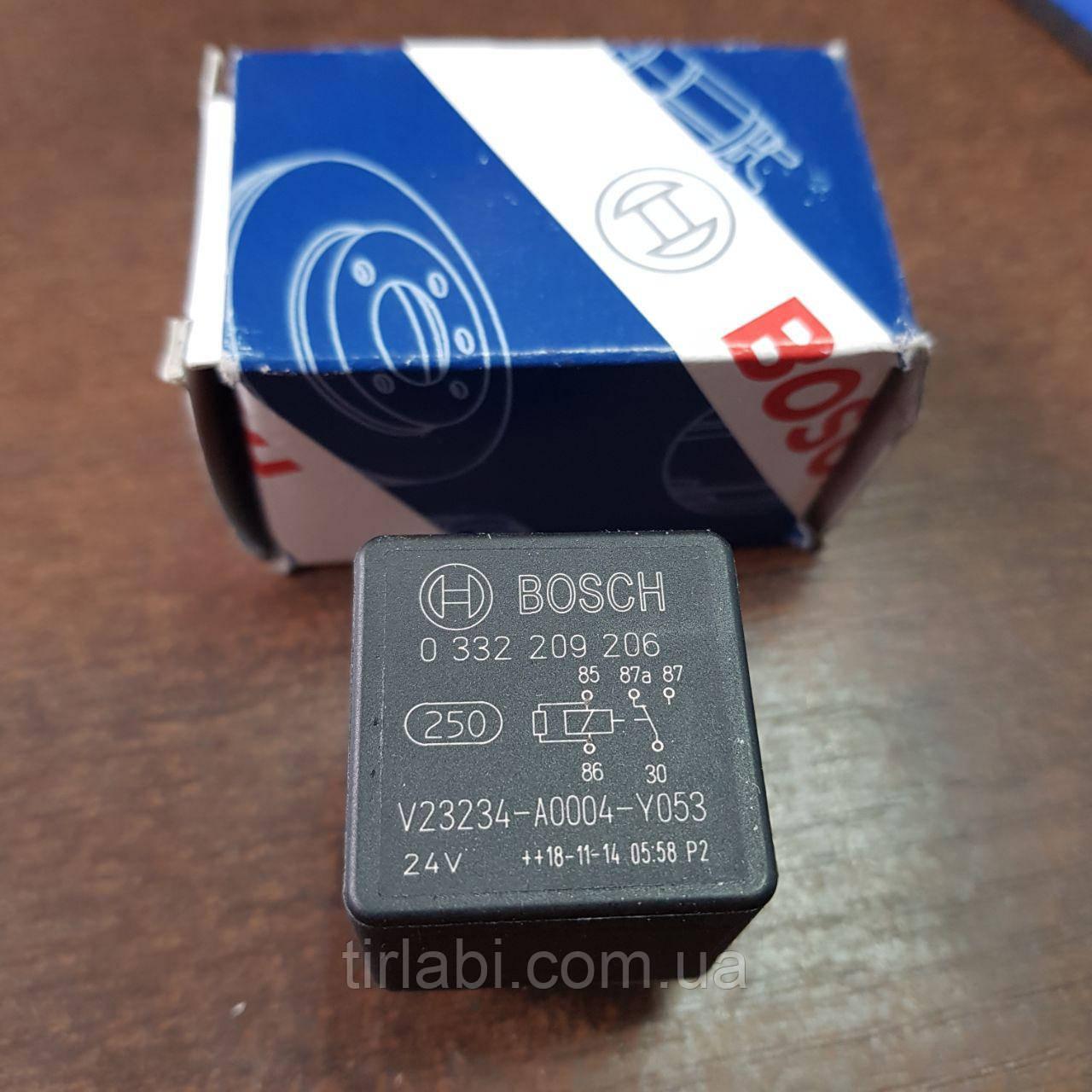 Реле 20A 24V 5 контактов BOSCH