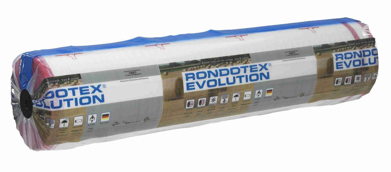 Сітка для обмотки рулонів RKW Rondotex (1,23 х 3600 м)