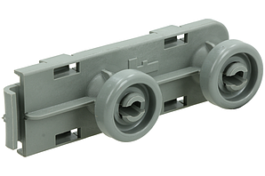 Направляющая с роликами (передняя) для ящика посудомоечной машины Electrolux 1561285006
