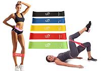 Набор резинок для фитнеса 30см