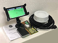 Комплексная система параллельного вождения  для опрыскивания ASNA PRO  + аккумулятор для  автономной