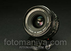 Canon nFD 28mm f2,8