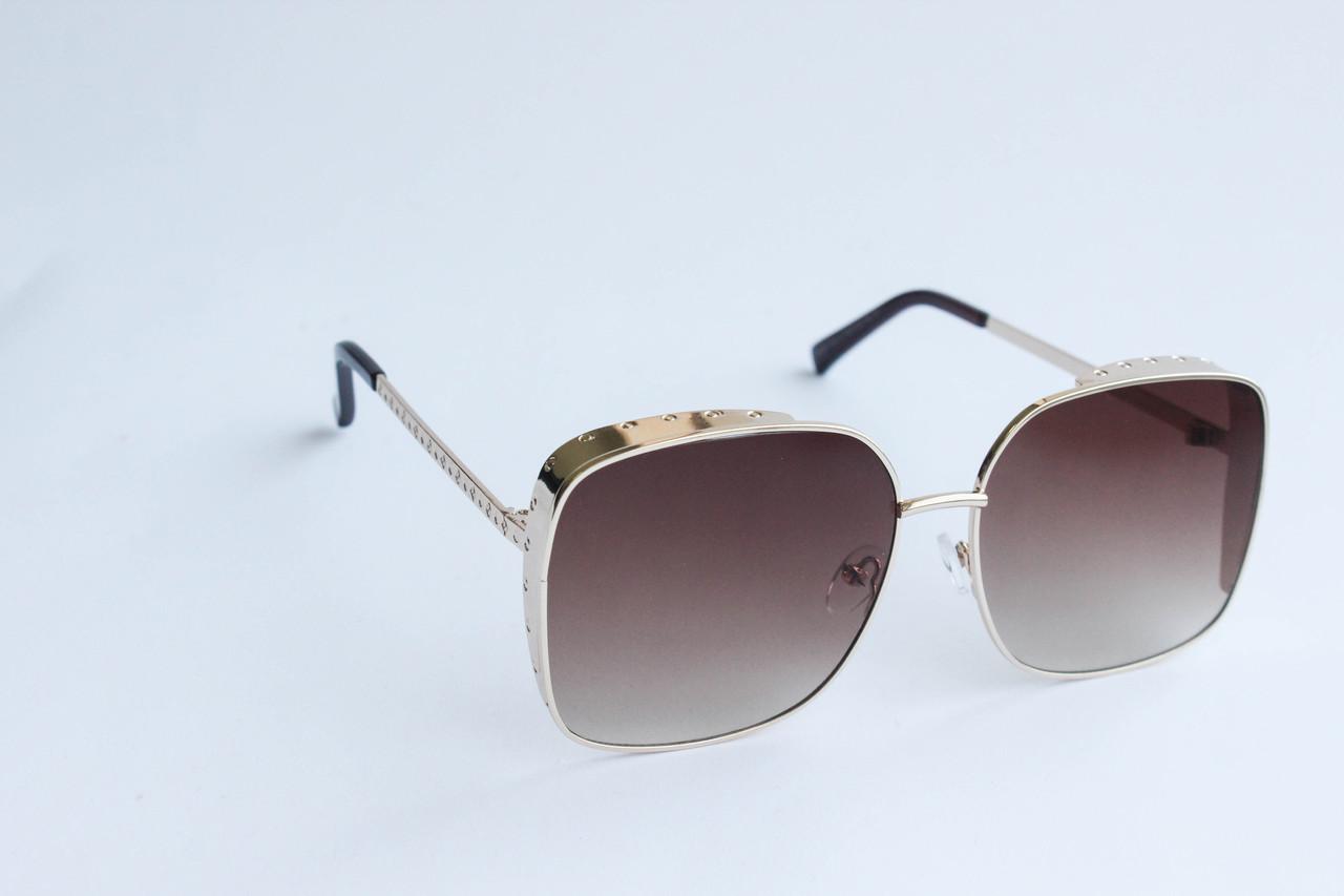 82e1b2bd1a85 Солнцезащитные очки квадратные коричневого цвета - ARUT Кожаная обувь и  галантерея в Николаеве