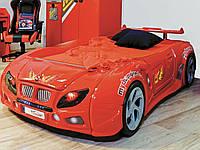 Пластиковая кровать машина Форсаж красная