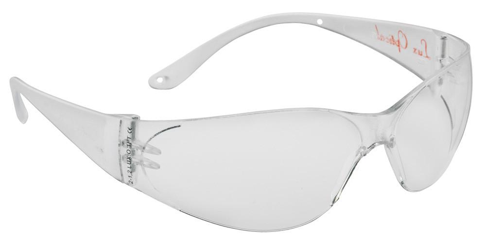 Очки защитные прозрачные облегченные POKELUX  Anti-fog+защита от царапин