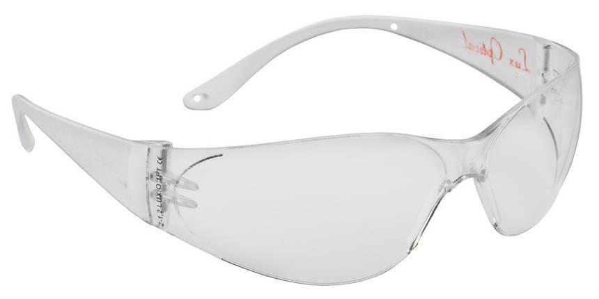 Очки защитные прозрачные облегченные POKELUX  Anti-fog+защита от царапин, фото 2