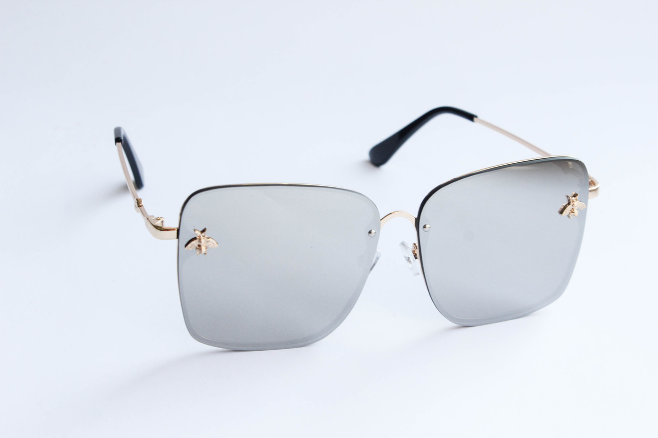 1a783fbc3545 Солнцезащитные очки квадратные серого цвета - ARUT Кожаная обувь и  галантерея в Николаеве