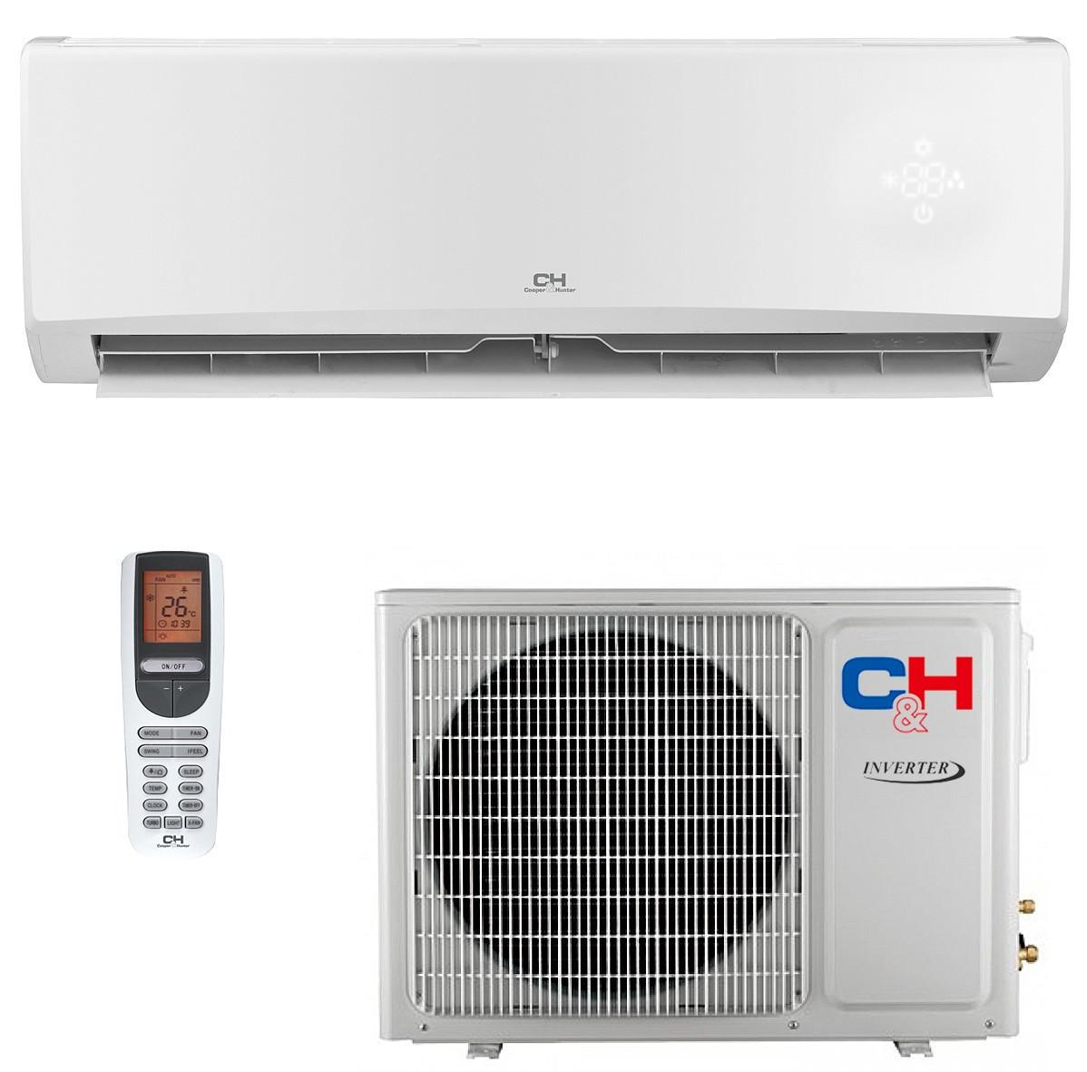 Кондиционер инверторный сплит-система Cooper&Hunter Alpha Inverter CH-S24FTXE-NG R32 Wi-Fi