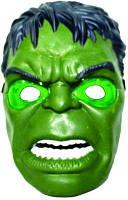 Светящаяся карнавальная маска Халк KS Hero - 145939