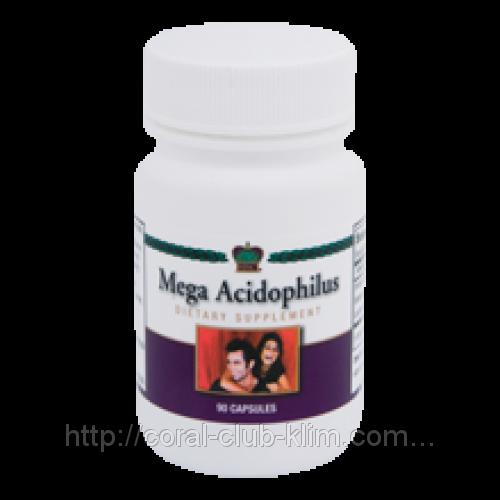 Мега ацидофилус    бактерии          -профилактика и лечение дисбактериоза,восстановление микрофлоры кишечника