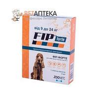 Фип форте капли  для собак до 9-24 кг 1 пипетка 4 мл Зоовет  Zoovet Аргентина