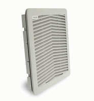 Решітка вентиляційна з фільтром FPF13KUG-100 (монтажне вікно 177х177мм, IP54)