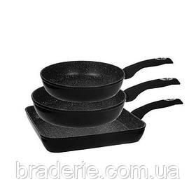 Набір кухонних сковорідок EDENBERG EB 1732 3 предмета