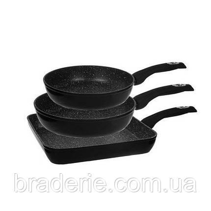 Набор кухонных сковородок EDENBERG EB 1732 3 предмета, фото 2