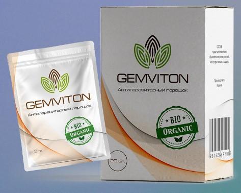 Gemviton (Гемвитон) - порошок от эндогенных паразитов