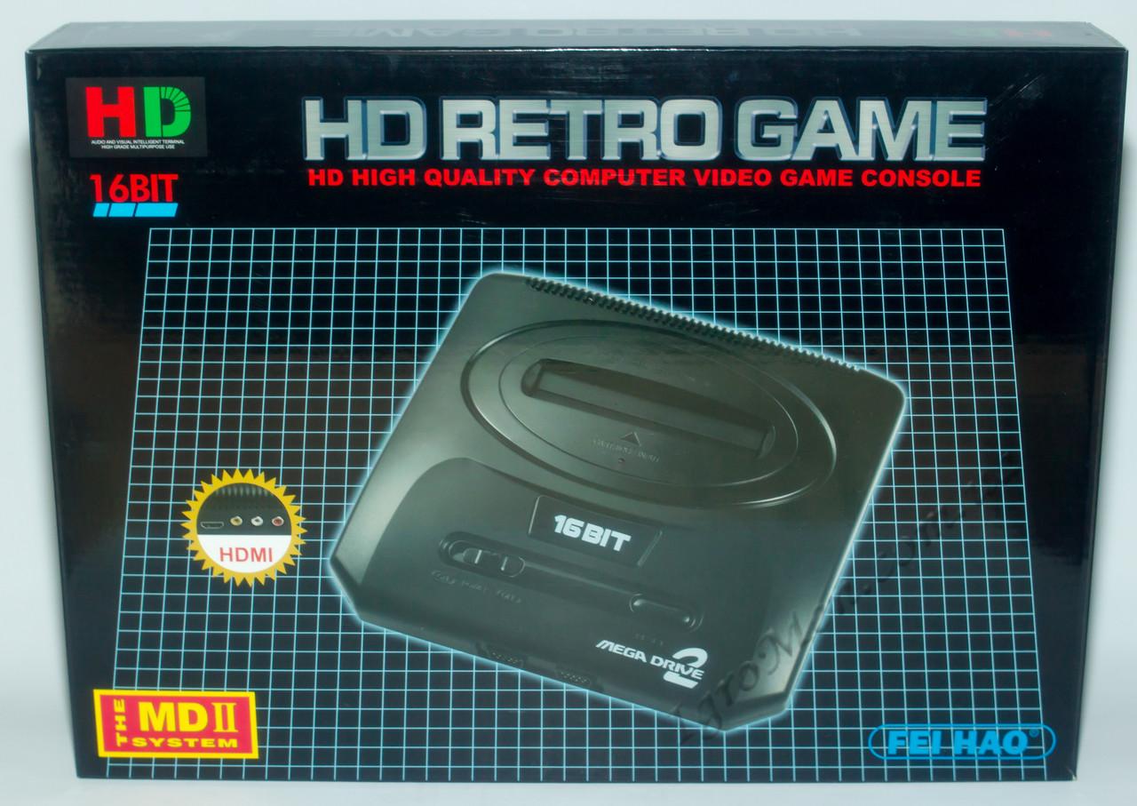 Sega Retro HD (HDMI, беспроводные джойстики)