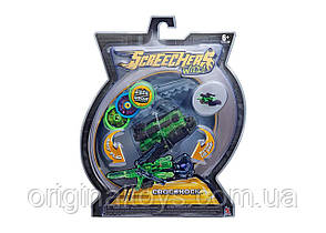 Машинка трансформер Крокшок Дикие Скричеры Screechers Wild Crocshock  Level 2