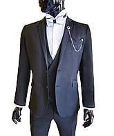 Классический мужской костюм № 115/5 -124-00344, фото 1