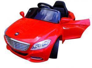 Электромобиль Cabrio S1+ EVA колеса красный