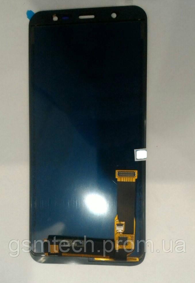 Дисплей с сенсором (модуль) для Samsung J8 (2018) J810 черного цвета (TFT)