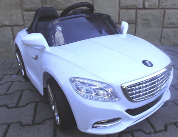 Електромобіль Cabrio S1+ EVA колеса білий