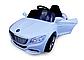 Електромобіль Cabrio S1+ EVA колеса білий, фото 2