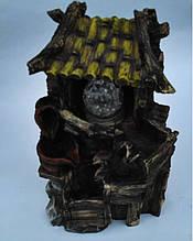 Фонтан декоративний кімнатний з підсвічуванням Хата