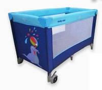 Манеж-кровать Baby Mix HR-8052-134