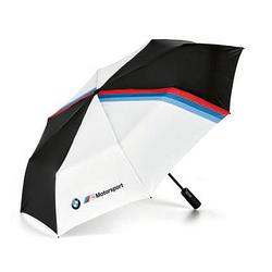 Оригінальна складна парасолька BMW M Motorsport Folding Umbrella, Black / White, артикул 80282461136