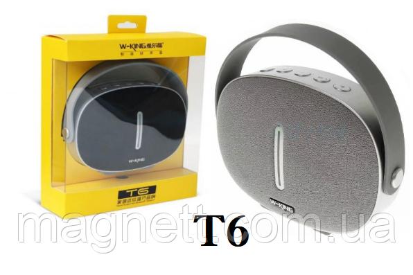Портативная  Bluetooth колонка  W-KING T6