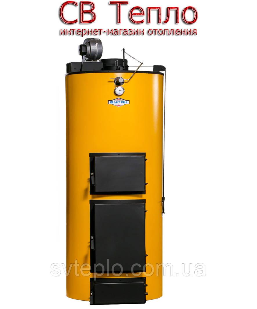 Твердотопливный котел длительного горения Буран New-40 У + ГВС