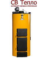 Твердотопливный котел длительного горения Буран New-40 У + ГВС, фото 1