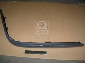 Накладка бампера переднего правая MERCEDES 210 (Мерседес 210) 1999- (пр-во TEMPEST)