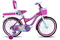"""Детский Велосипед 2-х кол. Sigma Flora 20"""" малиновый"""