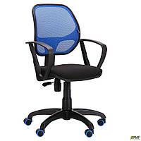 Кресло АМФ Бит Color/АМФ-7 сиденье А-1/спинка Сетка синяя