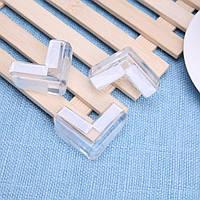 Силиконовая защита углов мебели 4 шт