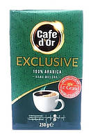 Кава мелена Cafe Dor Exclusive 100% Arabica 250 гр